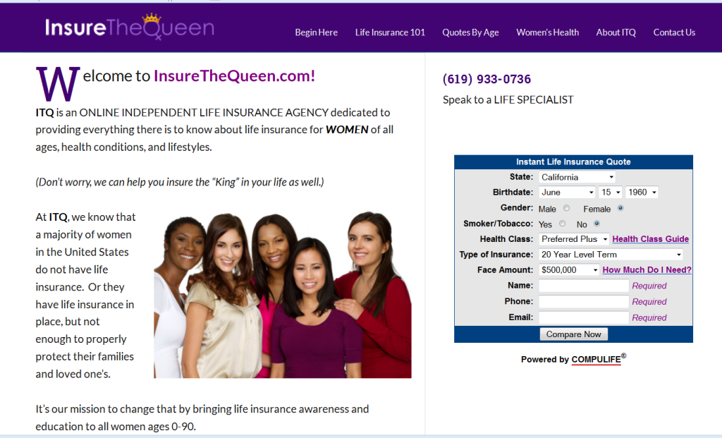 Insure the Queen design