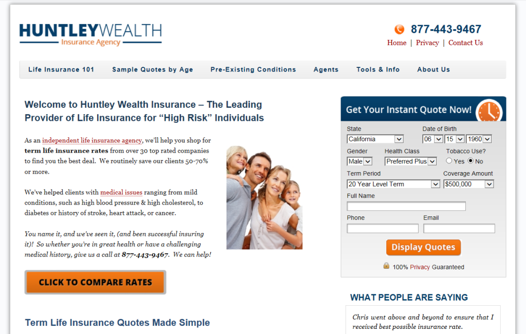 current design for Insuranceblogbychris