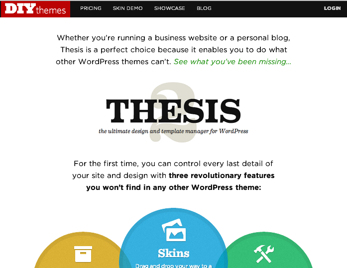 Custom css thesis