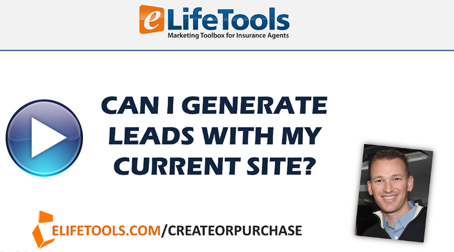 can i generate leads with my current website