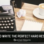 How to Write a Haro Pitch