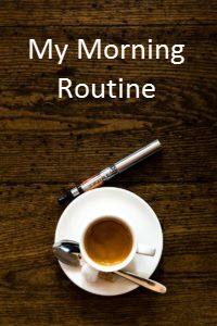 my morning haro routine