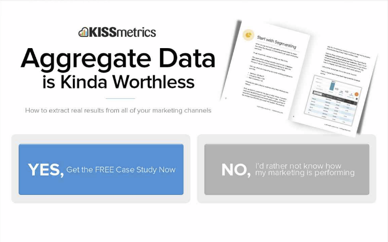 kissmetrics email optin