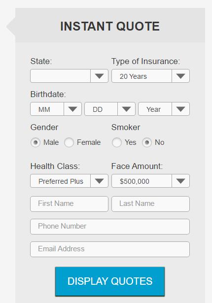 ninja quoter life insurance quoter