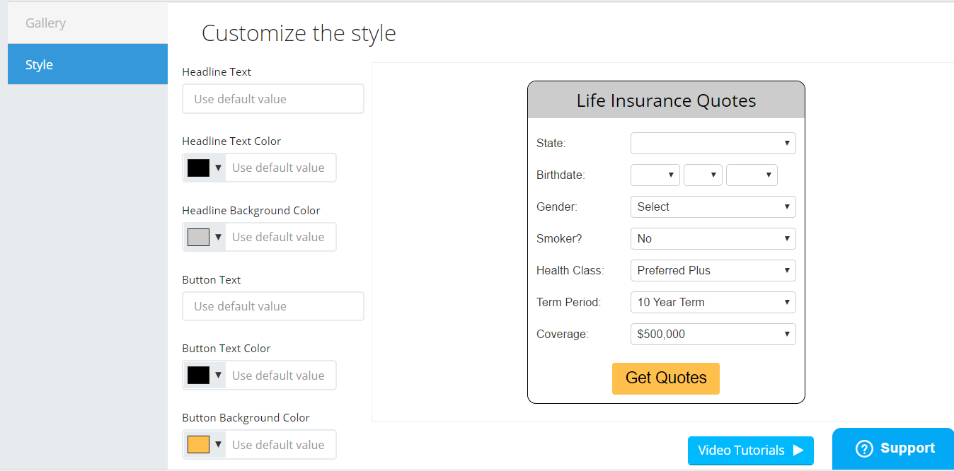 Life Insurance Quote Form Ninja Quoter Review  How My Site Generates 1200 Leads Per Month